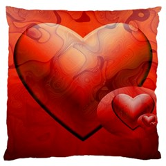 Love Large Cushion Case (Single Sided)