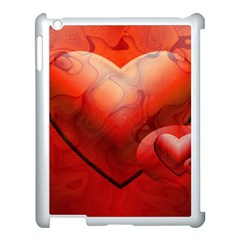 Love Apple iPad 3/4 Case (White)
