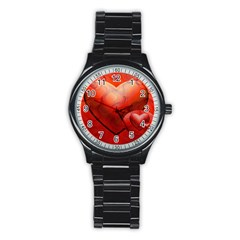 Love Sport Metal Watch (Black)