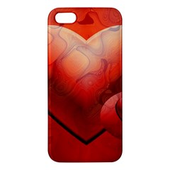 Love iPhone 5S Premium Hardshell Case