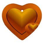 Love Heart Ornament Front