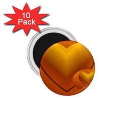 Love 1.75  Button Magnet (10 pack)
