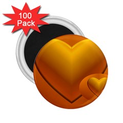 Love 2.25  Button Magnet (100 pack)