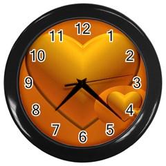 Love Wall Clock (Black)