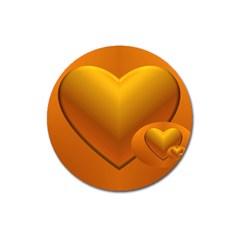 Love Magnet 3  (round)