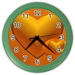 Love Wall Clock (Color)
