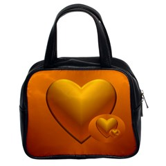 Love Classic Handbag (two Sides)