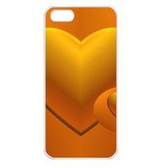 Love Apple iPhone 5 Seamless Case (White)