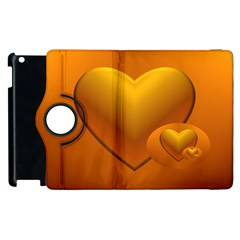 Love Apple Ipad 3/4 Flip 360 Case