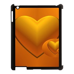 Love Apple Ipad 3/4 Case (black)