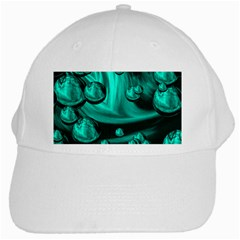 Space White Baseball Cap