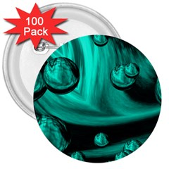Space 3  Button (100 pack)
