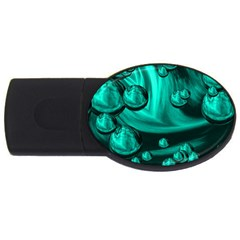 Space 4gb Usb Flash Drive (oval)