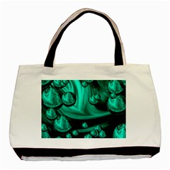 Space Twin-sided Black Tote Bag
