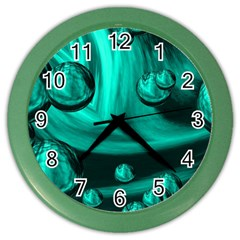 Space Wall Clock (Color)