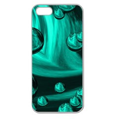 Space Apple Seamless iPhone 5 Case (Clear)