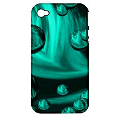 Space Apple iPhone 4/4S Hardshell Case (PC+Silicone)