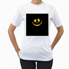 Why So Serious? Womens  T-shirt (White)