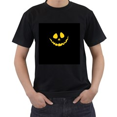 Why So Serious? Mens' Two Sided T-shirt (Black)