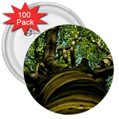 Tree 3  Button (100 pack)