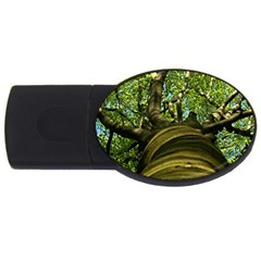 Tree 2GB USB Flash Drive (Oval)
