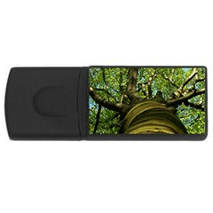 Tree 2GB USB Flash Drive (Rectangle)