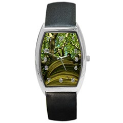 Tree Tonneau Leather Watch