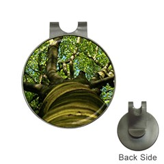 Tree Hat Clip With Golf Ball Marker
