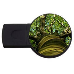 Tree 4GB USB Flash Drive (Round)