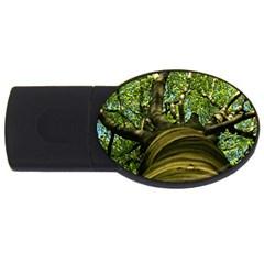 Tree 4GB USB Flash Drive (Oval)