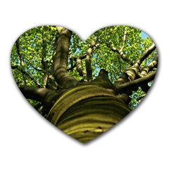 Tree Mouse Pad (Heart)