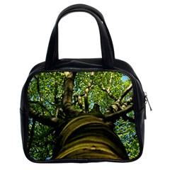 Tree Classic Handbag (two Sides)