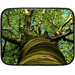 Tree Mini Fleece Blanket (Two Sided)