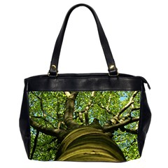 Tree Oversize Office Handbag (Two Sides)