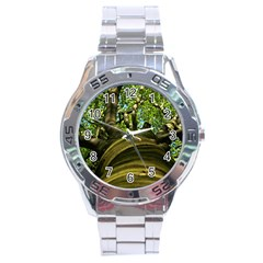 Tree Stainless Steel Watch (Men s)