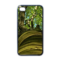 Tree Apple iPhone 4 Case (Black)