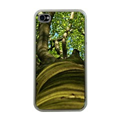 Tree Apple iPhone 4 Case (Clear)