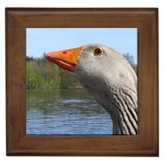 Geese Framed Ceramic Tile