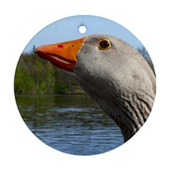 Geese Round Ornament