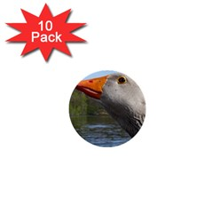 Geese 1  Mini Button (10 pack)