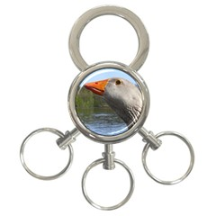 Geese 3-Ring Key Chain