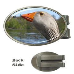 Geese Money Clip (Oval)