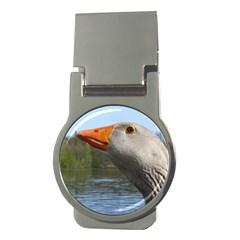 Geese Money Clip (Round)