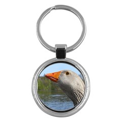 Geese Key Chain (Round)