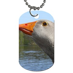 Geese Dog Tag (One Sided)
