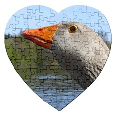 Geese Jigsaw Puzzle (heart)