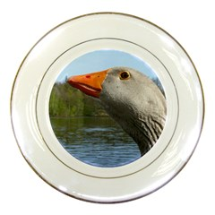 Geese Porcelain Display Plate