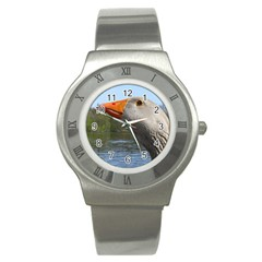 Geese Stainless Steel Watch (Unisex)