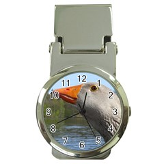 Geese Money Clip with Watch