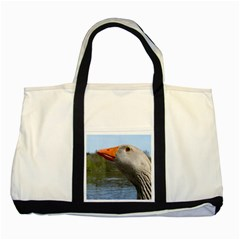 Geese Two Toned Tote Bag